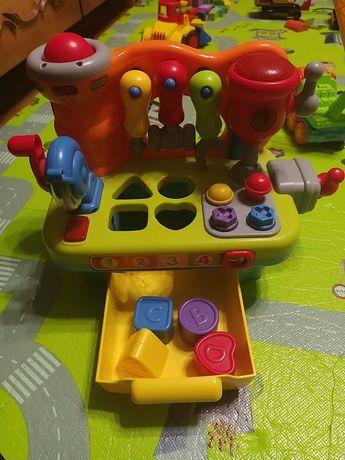 Детский игровой центр столярный стол