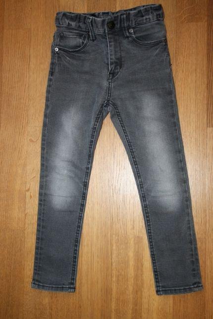 Spodnie dżinsowe H&M rozm 110