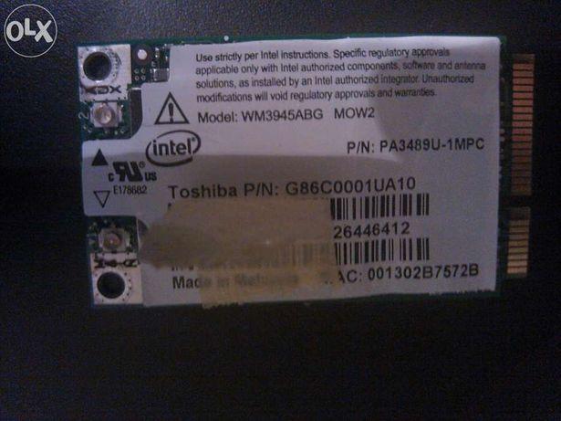Placa Wireless WM3945abg Portátil