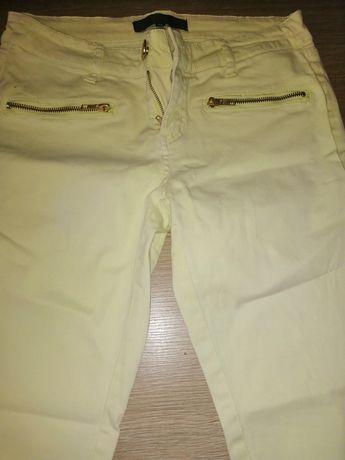 Spodnie żółte rozmiar 36.