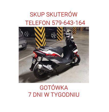 Skup skuterów i motocykli Bielsko-Biała Oświęcim Gotówka Transport