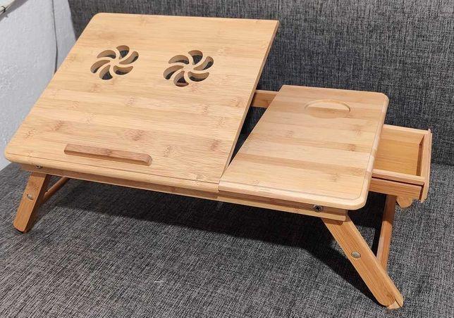 Podstawka, stolik pod laptopa, drewniana