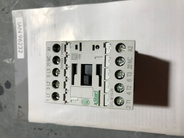 Stycznik mocy 15A 3P 230V AC 0Z 1R DILM15-01