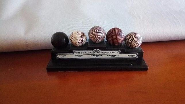 Bolas de Golf Evolução