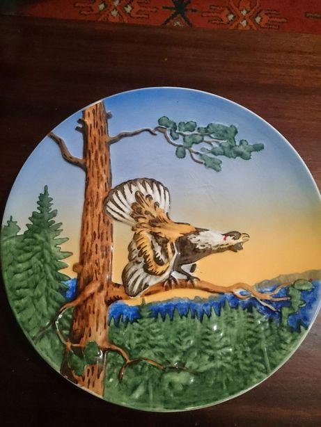 Керамічна настінна тарілка(німетчина)