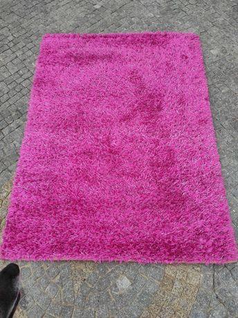 Carpete rosa forte