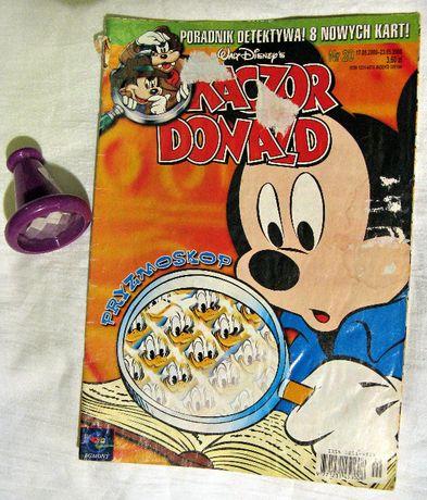 komiks Kaczor Donald nr20/2000r +dodatek pryzmoskop