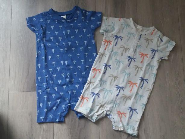 Rampersy piżamy H&M rozm. 80