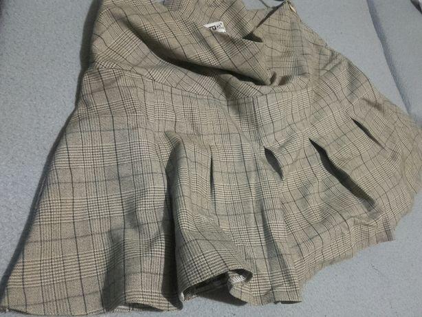 spódnica plisowana kratka roz 40 HIT SEZONU