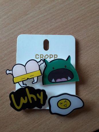 CROPP новые значки/пины на одежду