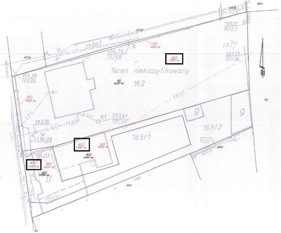 Działka na sprzedaż 1111 m2, ul. Spacerowa