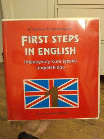 Kurs języka angielskiego dla początkujących First Steps In English
