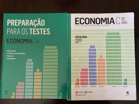 livro de Economia C 12ano + preparação para os testes