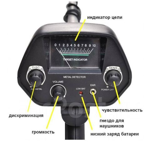 Металлоискатель TRАСKER-DISCOVERY md 4030 Новый