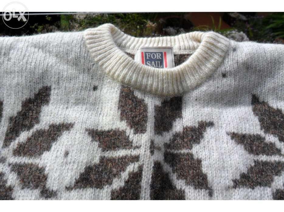camisola de lã estampado (para homem) Arroios - imagem 1