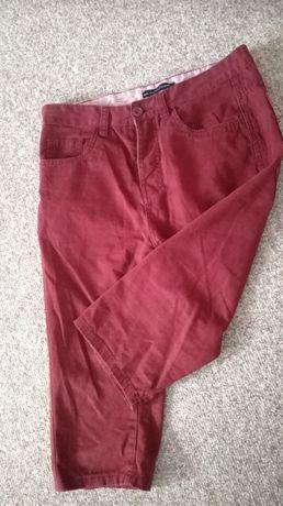 spodnie spodenki męskie bermudy rozm. 38, W30 Cedar Wood State bordo