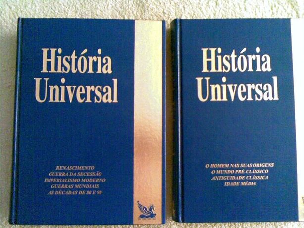 História Universal - 2 Volumes