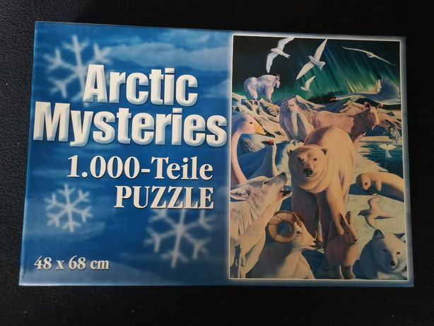 Weltbild puzzle 1000 elementów - 584 552 Arctic Mysteries