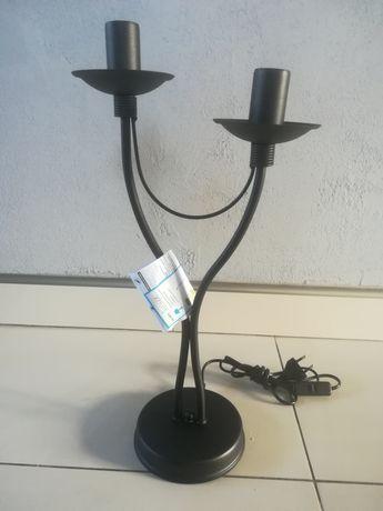 Świecznik lampa  NOWA