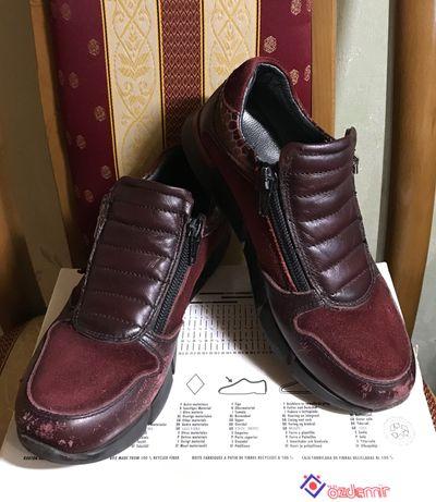 Ботинки бордовые Minimen (размер 31)
