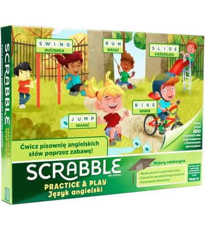 Mattel Scrabble Practice and Play