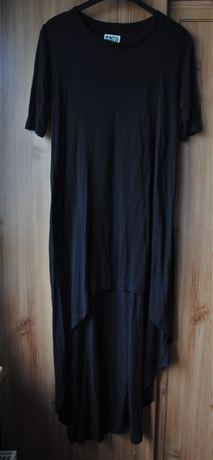 WEEKDAY stylowy wygodna asymetryczna sukienka M