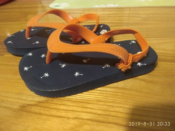 ~Nowe japonki rozmiar 24 sandałki dziecięce dla dzieci buty klapki