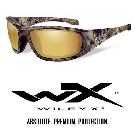 Okulary WileyX BOSS Polarized Amber Gold Mirror KRYPTEK Highlander