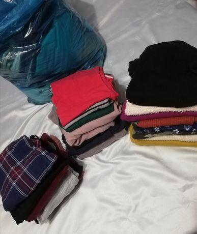 Paka ubrania i buty damskie