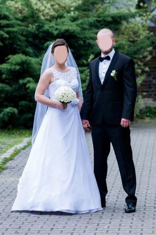 suknia ślubna S/M/L