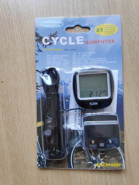 Bicicleta computador Distancia e Km