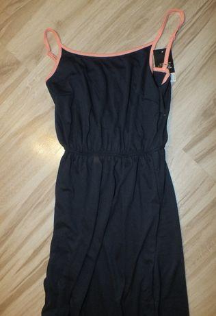 Nowa sukienka długa bawełna lekka ramiączka XS/S