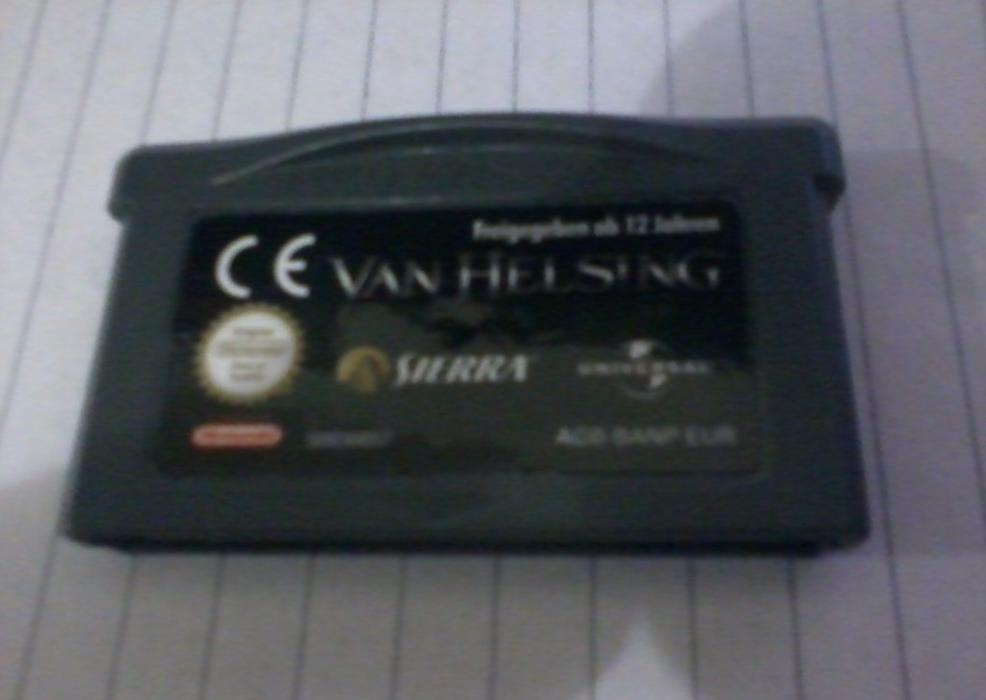 Van Helsing jogo GBA
