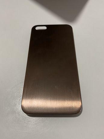 Capa Dourada para iPhone série 5