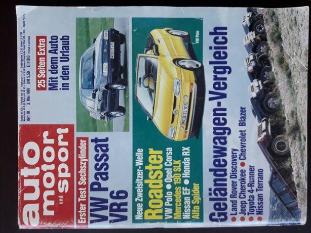 Auto Motor u. Sport Nr.10 1991