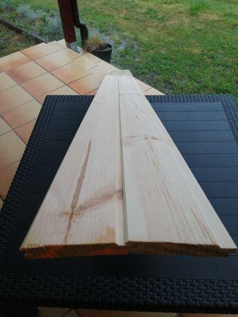 Boazeria, Podbitka drewniana, Deska elewacyjna