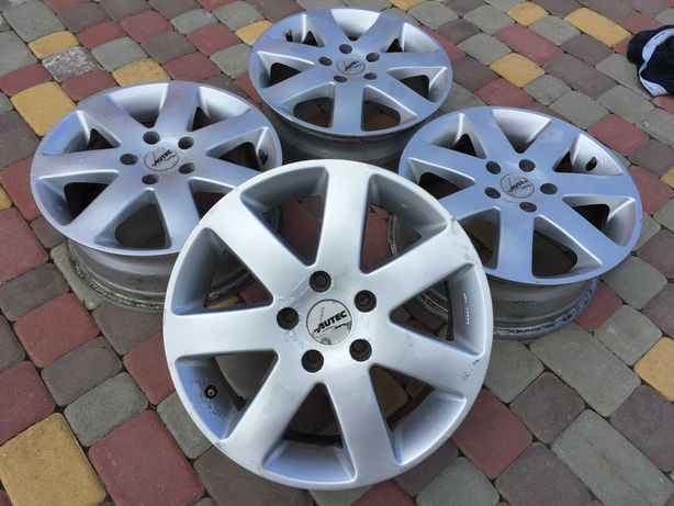 Тітанові діски Autec 5*112 R16 Mercedes -Audi-Scoda-VW-Seat