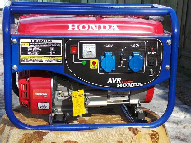 Генератор бензиновый HONDA EF6600E 5,5kw