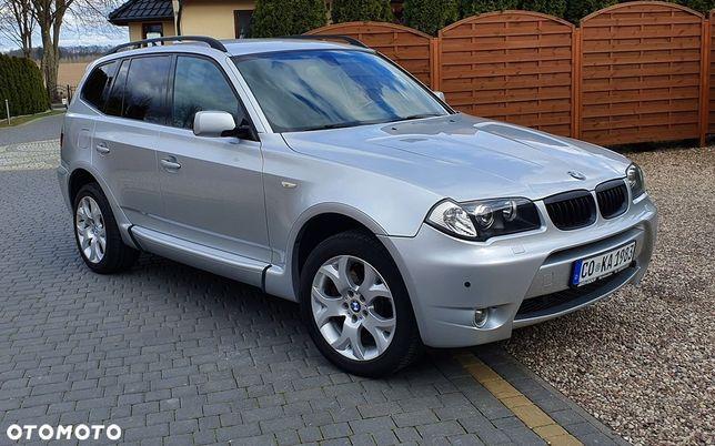 BMW X3 * SUPER STAN * 3.0D 204km * M PAKIET * Full opcja * Navi * Xenon *
