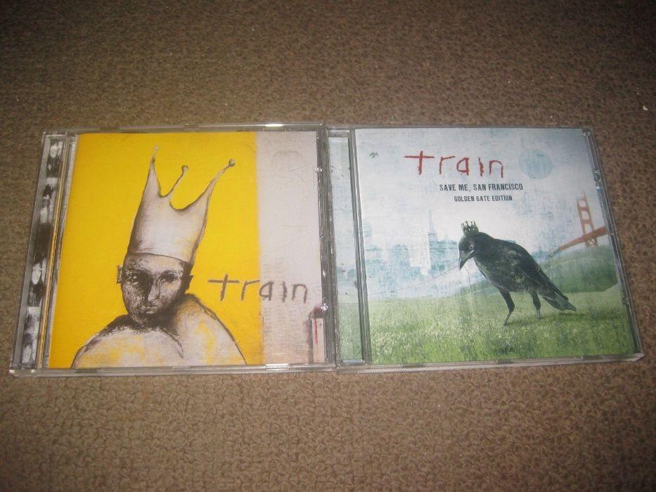 """2 CDs dos """"Train"""" Portes Grátis! Paços de Ferreira - imagem 1"""