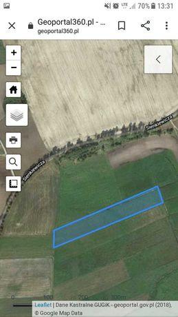 działka rolna 1.54 ha,warmińsko-mazurskie,gm. Jeziorany