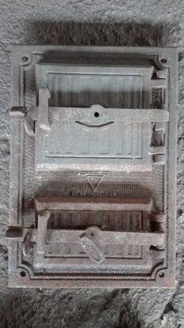 Drzwiczki Żeliwne do pieca kuchni kaflaka