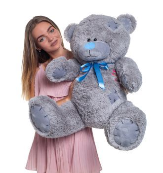 Наложка! Плюшевий Ведмедик Тедди падарок 8 мартаберезня Самовивіз100см