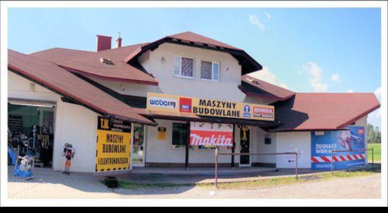 Wypożyczalnia sprzętu budowlanego - Łodygowice, Pogodna2