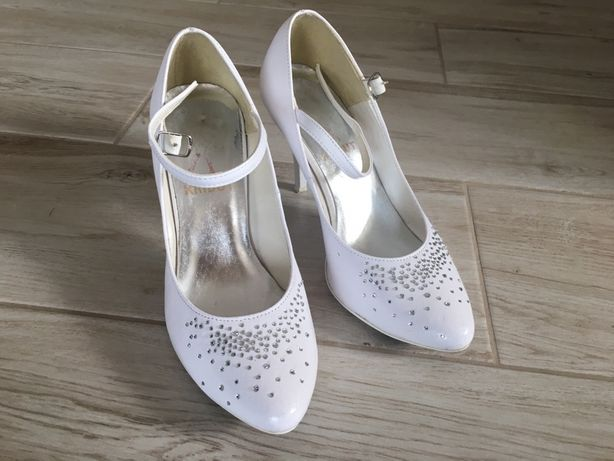 Buty ślubne r. 35