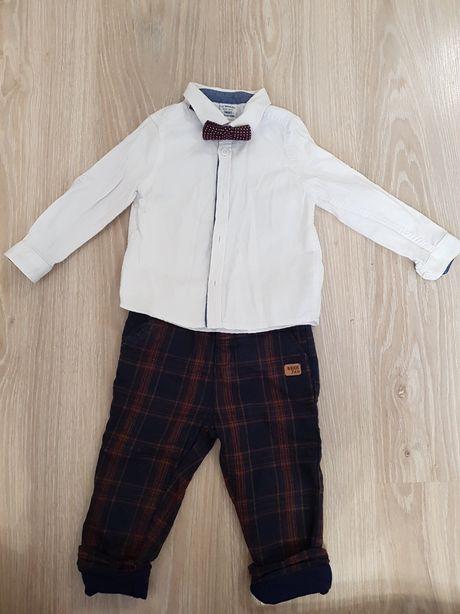 Нарядный костюм на мальчика рубашка, штаны, Waikiki, 9-12 мес., 74 -80