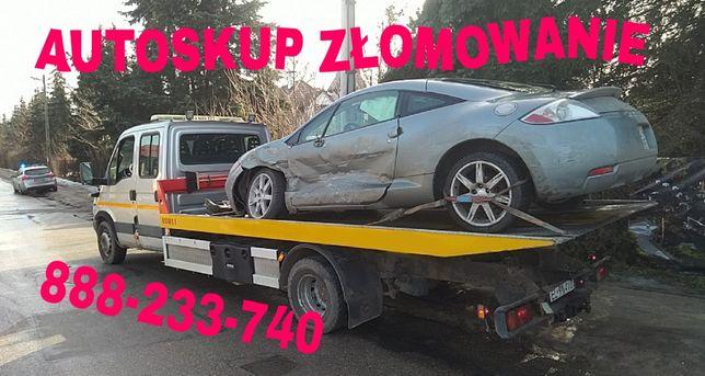 Skup aut sprawnych i uszkodzonych ~ Kasacja ~ Złomowanie