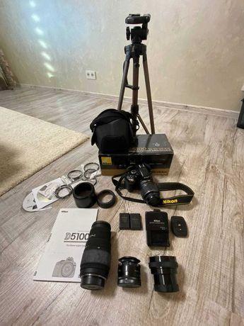 Продам  Фотоаппарат Nikon D5100