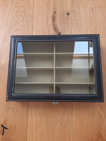 Pudełko szkatułka etui na okulary box przeciwsłoneczne korekcyjne