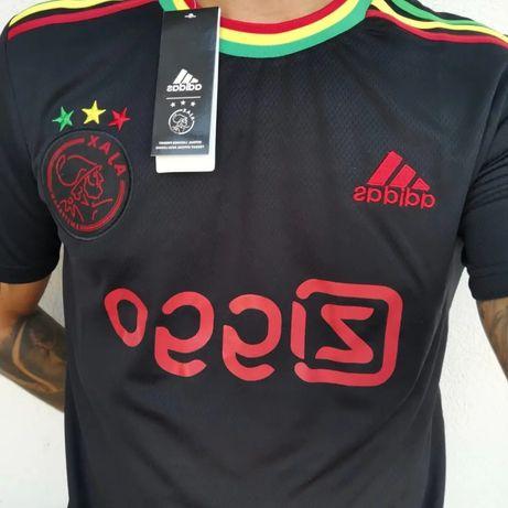 Camisola Ajax Tributo Bob Marley 21-22 Versão Protótipo